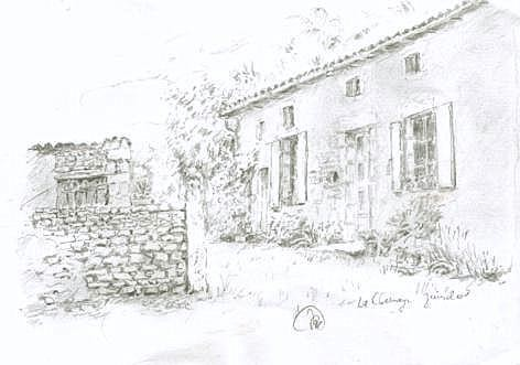 FARM DRAWING SELF CATERING LA CHESNAYE