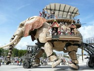 PROMENADE ENFANTS MACHINES ELEPHANT NANTES